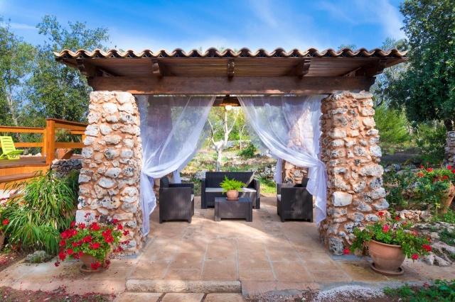 Villa Met Overdekte Veranda En Zwembad Bij Otranto 5