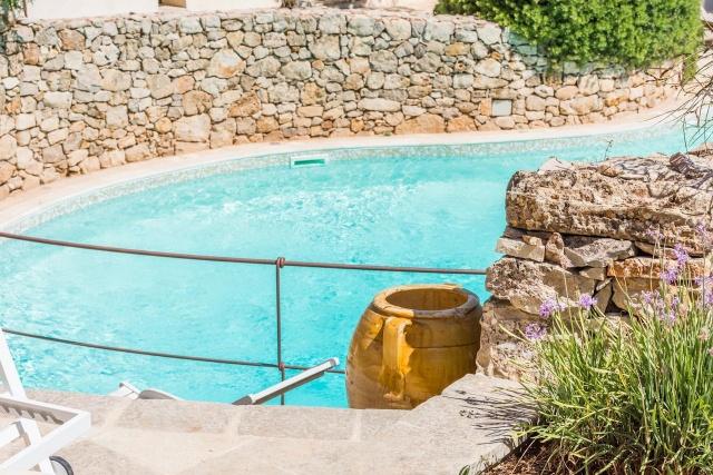 Zespersoons App Met Gedeeld Zwembad In Lecc 6
