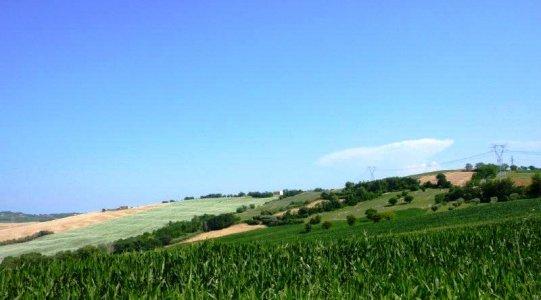Landschap Pesaro urbino Le Marche